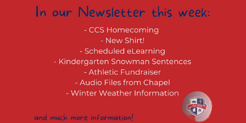 This Week at CCS...